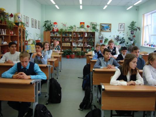 Урок Мужества в школе № 31